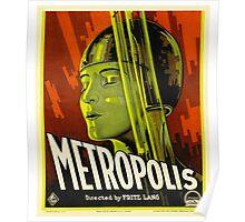 Metropolis - Vintage Sci-Fi Film by Fritz Lang Poster
