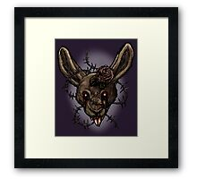I think I broke the Rabbit Framed Print