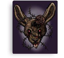 I think I broke the Rabbit Canvas Print