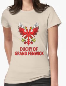 Duchy of Grand Fenwick - Coat of Arms Womens Fitted T-Shirt