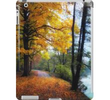 Autumn River View iPad Case/Skin