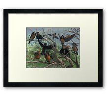 Deeping Bosk - The Sentries Framed Print