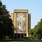 Touchdown Jesus by worldwideart
