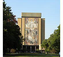 Touchdown Jesus Photographic Print