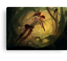 Twilight Hunt Canvas Print