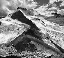 Boundary Glacier, Mount Athabasca, Boundary Ridge, Glacier A by Neil Thompson