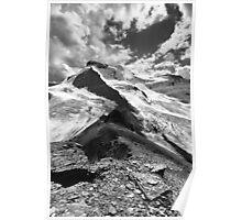 Boundary Glacier, Mount Athabasca, Boundary Ridge, Glacier A Poster
