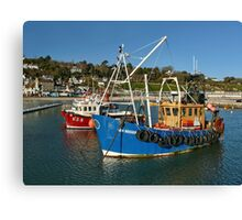 Home For The Holidays ~ Lyme Regis Canvas Print