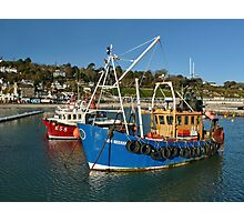 Home For The Holidays ~ Lyme Regis Photographic Print