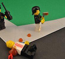 Lego Tranny Axe Murderer by Bas Van Uyen