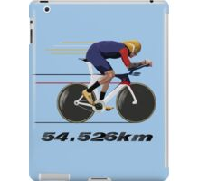Wiggo Record Breaker iPad Case/Skin