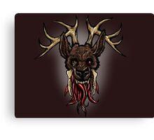 I think I broke the deer Canvas Print