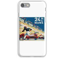 Vintage - 24 Hours of Le Mans (24 H du Mons) iPhone Case/Skin
