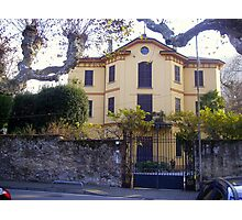 Lovely House on Lake of Como Photographic Print