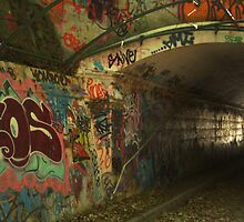 Light at the end of the tunnel by DesignStrangler