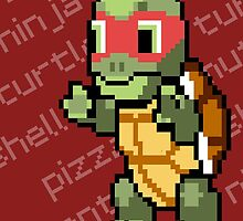 Squirtle Turtle - Raph by Vitalitee