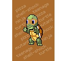 Squirtle Turtle - Mikey Photographic Print