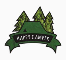Camping makes me happy. Baby Tee