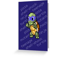 Squirtle Turtle - Leo Greeting Card