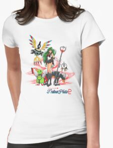 Pretty Guardian Trainer Pluto Womens Fitted T-Shirt
