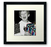 The Gift... Framed Print