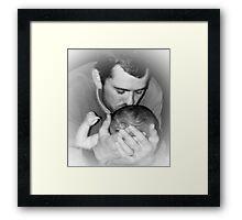 Love... Framed Print