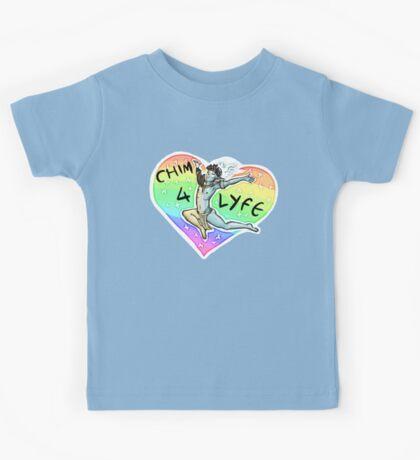 CHIM 4 LIFE - Thank u based vehk Kids Tee