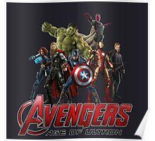 Superheroes Assemble Poster
