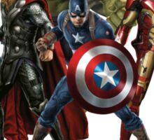 Superheroes Assemble Sticker