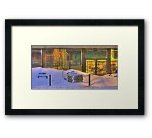 Closed for Christmas  Framed Print
