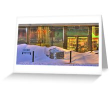 Closed for Christmas  Greeting Card