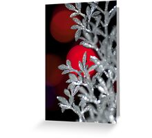 Red Moons Greeting Card