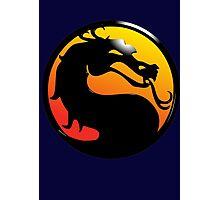 Fighting Dragon Photographic Print