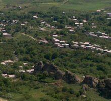 a historic Armenia landscape Sticker