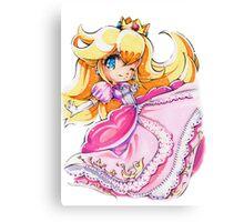 Chibi Princess Peach Canvas Print