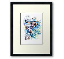 Chibi Zed & Syndra Framed Print
