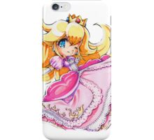 Chibi Princess Peach iPhone Case/Skin