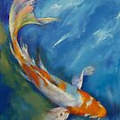 Yamato Nishiki Koi by Michael Creese