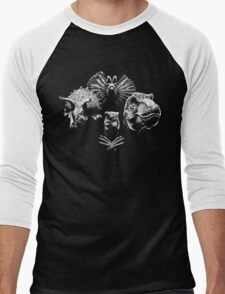 Jurassic Rhapsody Men's Baseball ¾ T-Shirt