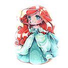 Chibi Princess Ariel by Pixel-League