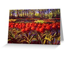 The Red Tulips in Keukenhof Greeting Card