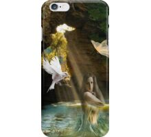 Pure waterfall iPhone Case/Skin