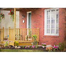 My Front Porch Photographic Print