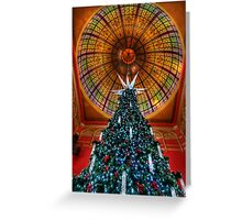 QVB Christmas Tree Greeting Card