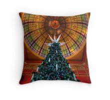 QVB Christmas Tree Throw Pillow