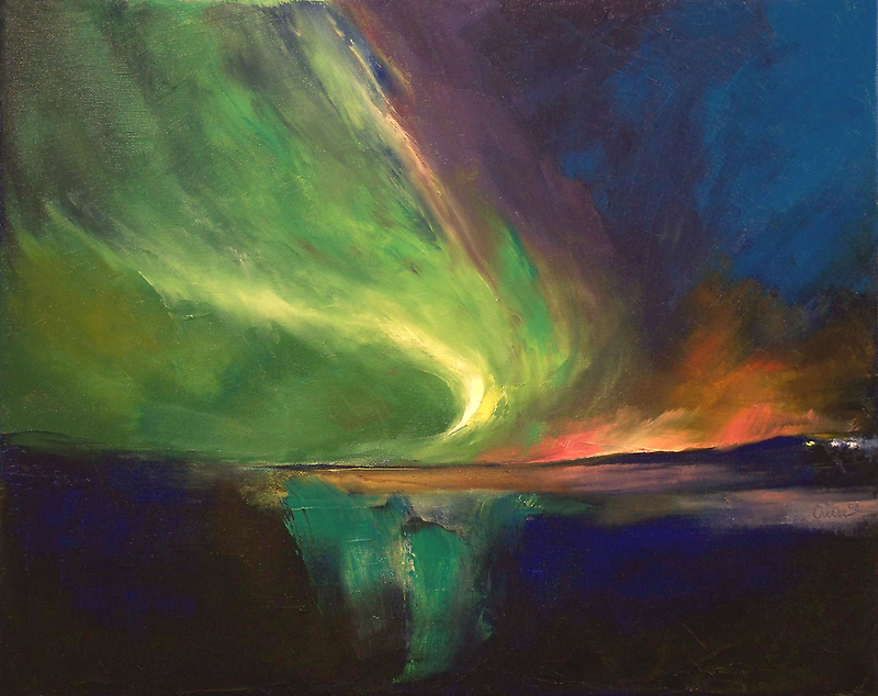 Aurora Borealis by Michael Creese
