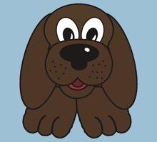 Children's Brown Puppy Dog Kids Clothes