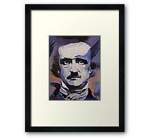 Portrait of Edgar Allan Poe Framed Print