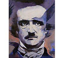 Portrait of Edgar Allan Poe Photographic Print