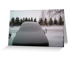 Buried Buick LeSabre Greeting Card